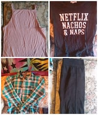 Assorted clothing size S to M Red Deer, T4N 6N2