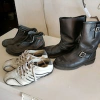 Mens Size 8 used shoes and boots Markham, L3R 0N2