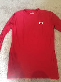 red Under Armour crew-neck t-shirt Sparks, 89431