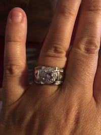 Nice unisex Ring stamped s925 size 9 .. price is firm  North Chesterfield, 23234