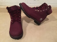 Women's Size 6 Timberland 6 Inch Velvet Accent Premium Waterproof Boots London