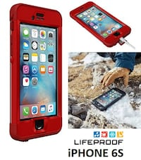 BNIB LIFEPROOF NUUD IPHONE 6S WATERPPROOF CASE Toronto