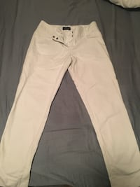 White straight-cut chinos Conway, 72034