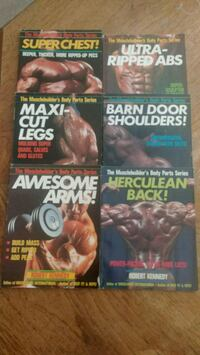 6 work out books new condition Cottage Grove, 55016