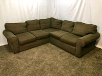 #1617 - Professionally Cleaned Sectional Sofa Oregon City, 97045