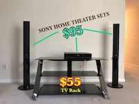 TV Rack and SONY Home Theater Sets Annandale, 22003