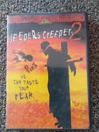 Jeepers Creepers 2 DVD case