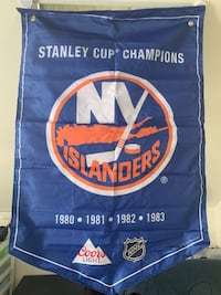 35' by 23' NHL NY Islanders Champion Flag by CoorsLight Vancouver, V6P 3J1