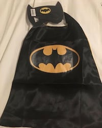 Batman cape and mask- Halloween new -404 and major Mackenzie Markham, L6C 0K8
