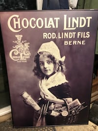 46x33 1/2 metal framed Lindt chocolate picture Bloomingburg, 12721