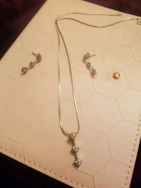 Silver jewelry set Coquitlam