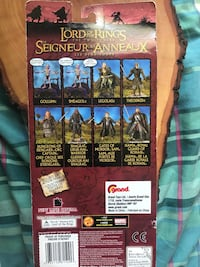 Lord of the Rings collectible action figures New Tecumseth, L0G 1W0