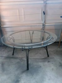 Firm price glass table Durham, 27713