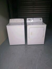 white washer and dryer set Bloomfield, 07003