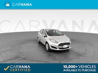 2016 *Ford* *Fiesta* S Sedan 4D sedan Silver Downey