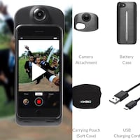 ION 360 camera and charger combo Vancouver, V6H 0A9