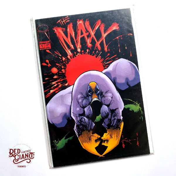 Maxx #1 Image 1993 Comic Book