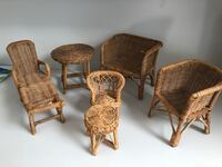 Antique wicker doll furniture Omaha, 68132