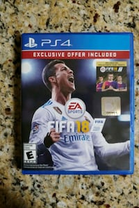FIFA 18 (PS4) Like New Mint Condition Silver Spring, 20904