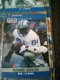 NFL player trading card collection Monroe, 48162