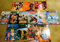 Boys Amazing Books! 13 Total! Star Wars, Pokemon, Thor, Lego & More! All for 15! Regina, S4X 3B6