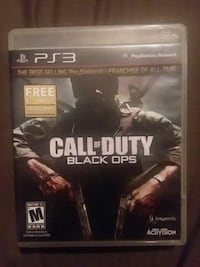 Call of Duty Black Ops PS3 game case Summerville, 30747