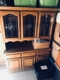 brown wooden cabinet with drawer Salem, 97301