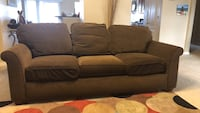 Brown 3-seat couch Pace, 32571