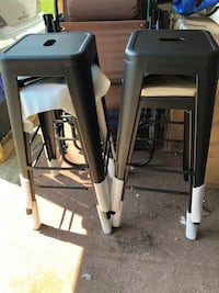 Brand new set of four industrial bar stools 30 in seat height Reynoldsburg, 43068
