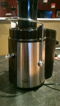 stainless steel and black juice extractor Toronto, M5B