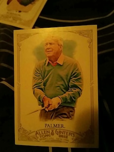Palmer Allen & Ginters trading card