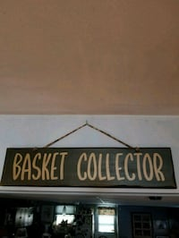 BASKET COLLECTOR HOME DECOR SIGN Hagerstown, 21740