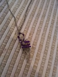 Purple wire wrapped crystal Leesburg, 20176
