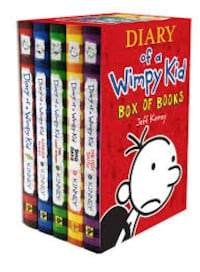 Diary of a Wimpy Kid Books 1-5 Fairfax