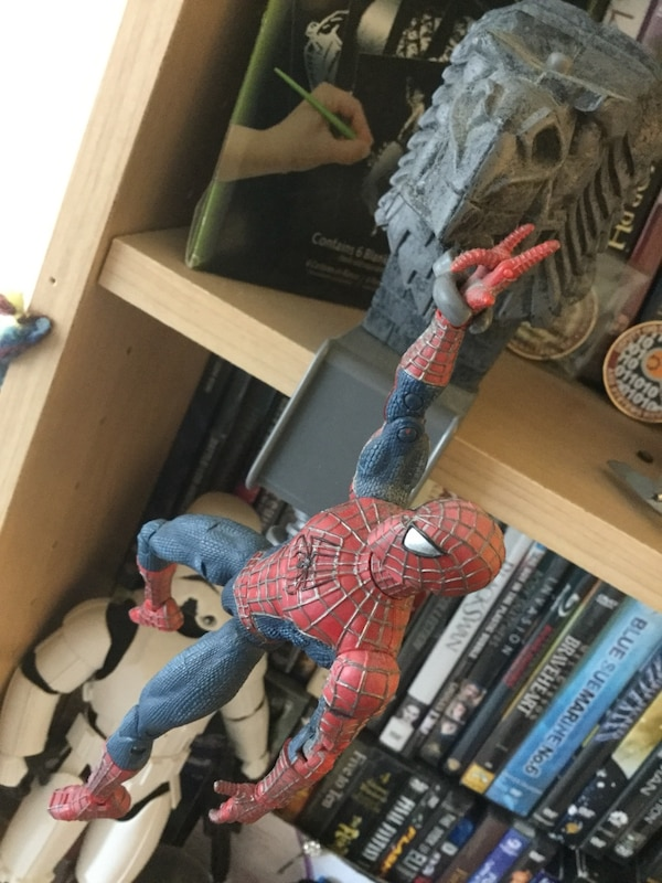 Spiderman character / Collectables and toys