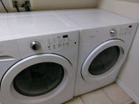 white front load washing machine Littleton