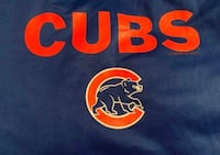Large Chicago Cubs MLB Baseball Lightweight Dugout Hoodie