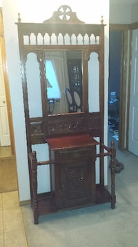 Front Entry Armoire