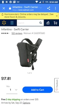 Baby carrier Tulare, 93274