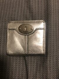 Silver fossil wallet West Des Moines, 50266