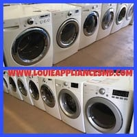 Front load washer and dryer set 15% off + free delivery  Reisterstown, 21136