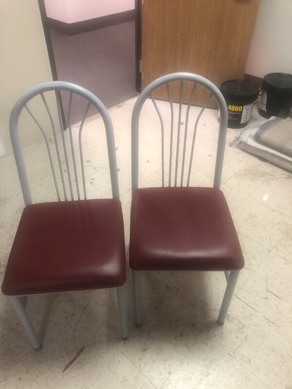Cafe chairs 8
