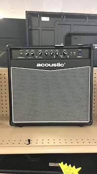 black and gray Acoustic guitar amplifier Jacksonville, 32225