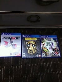 two Sony PS4 game cases North Las Vegas, 89030