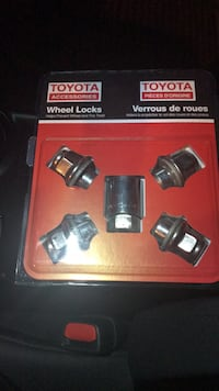 Toyota Wheel Locks 5PK 538 km