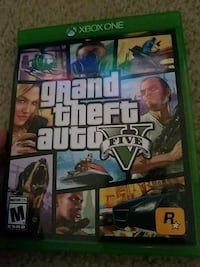 Grand Theft Auto Five Xbox One game case Oak Creek, 53154