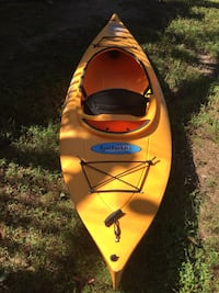 Feather light kayak