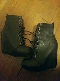 Wedge boot 9