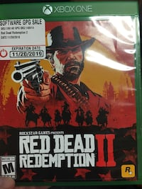 Red Dead Redemption 2 (Xbox One) Fairchild AFB