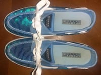Woman's size 7.5 Bahama blue sequence Sperry's  Grove City, 43123
